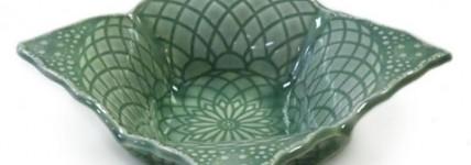 Square Lace Bowl